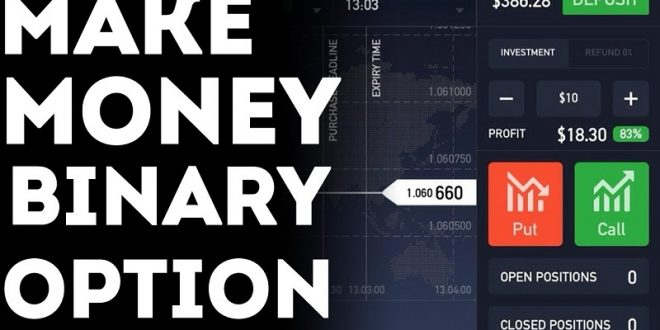 How binary option trading works