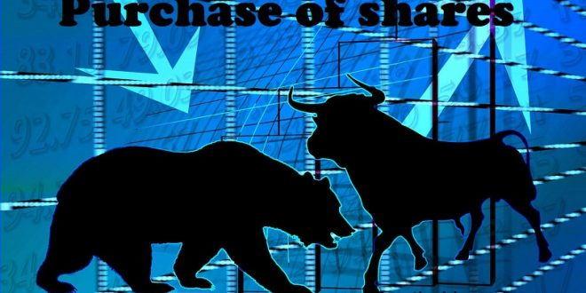 Purchase of shares