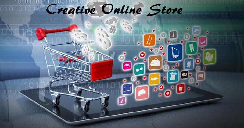 creative online store